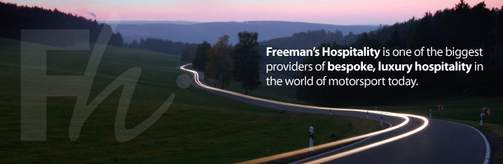 Freemans' Hospitality is one of the biggest providers of bespoke, luxury hospitality in the world of motor sport today